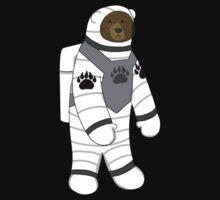 Astronaut bear  Kids Tee