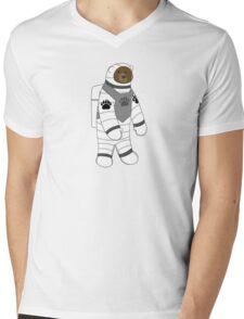 Astronaut bear  Mens V-Neck T-Shirt