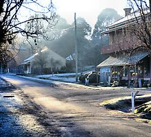 Clark Street Hill End NSW Australia by Phil Woodman