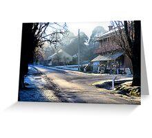 Clark Street Hill End NSW Australia Greeting Card