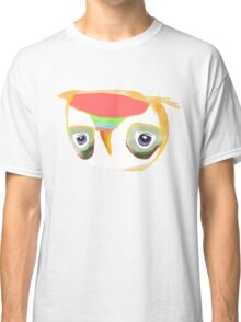 The Owl with Purple Eyes Classic T-Shirt