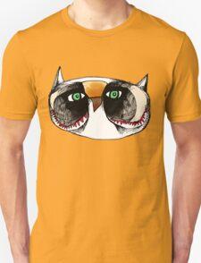 The Owl with Green Eyeballs T-Shirt