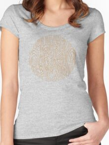 daily resolution Women's Fitted Scoop T-Shirt