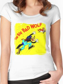 The Big Bad Wolf Women's Fitted Scoop T-Shirt
