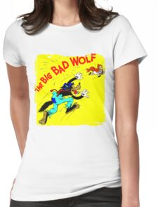 The Big Bad Wolf Womens Fitted T-Shirt
