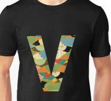 Letter Series - v Unisex T-Shirt