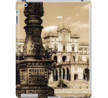 Plaza de Espana - Seville iPad Case/Skin