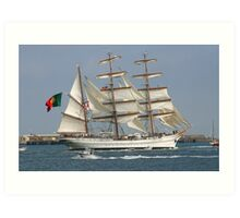THE BARQUE FROM PORTUGAL Art Print