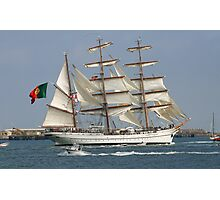 THE BARQUE FROM PORTUGAL Photographic Print