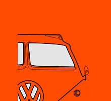 VW Bus Gregarious Unisex T-Shirt