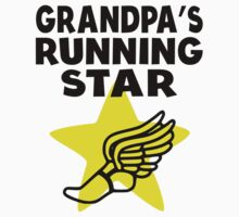 Grandpa's Running Star One Piece - Short Sleeve