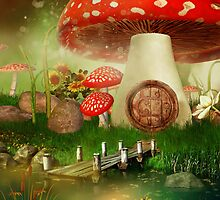 Creative cartoon mushrooms by skycn520