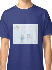 smoking Couple Classic T-Shirt