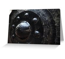 Black Bell Greeting Card