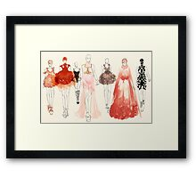 Alexander McQueen - 2013 Favorites Framed Print