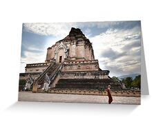 Temple in Chiang Mai Greeting Card