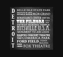 Detroit Famous Landmarks Unisex T-Shirt