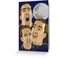 3 Cages Shirt Greeting Card