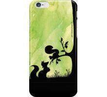 Woodland Shadows - Fox and Squirrel:Spring iPhone Case/Skin