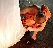 Lantern Festival in Chiang Mai by DebWinfield