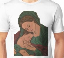 mary and baby jesus Unisex T-Shirt