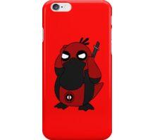 Deadpool Psyduck T-shirt iPhone Case/Skin