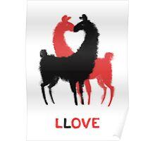 Llama Llove Poster