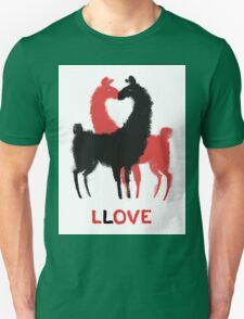 Llama Llove Unisex T-Shirt
