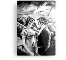 Pride and Prejudice watercolor Metal Print