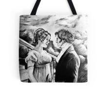 Pride and Prejudice watercolor Tote Bag