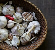 Garlic with Chilli by DebWinfield