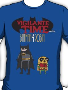 Vigilante Time with Batman & Robin T-Shirt