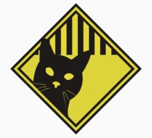 Cat Warning by W4rnings