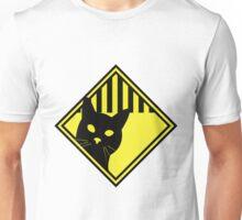 Cat Warning Unisex T-Shirt
