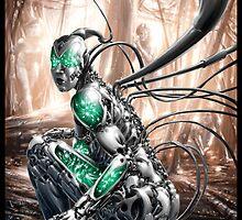 Cyberpunk Painting 006 by Ian Sokoliwski