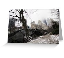 New York City winter Greeting Card