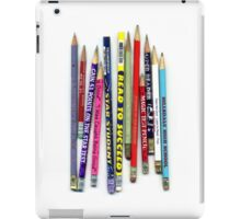 Star Student Read to Succeed Magic Test Pencil iPad Case/Skin