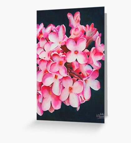 Cluster Greeting Card