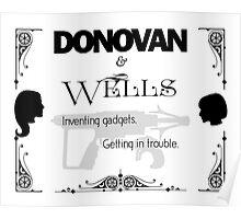 Donovan & Wells Poster