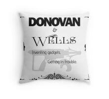 Donovan & Wells Throw Pillow