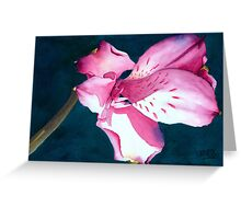 New Year Flower Greeting Card
