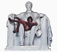 Frank Furter at the Lincoln Memorial by ShawnHallDesign
