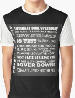Dover Famous Landmarks Graphic T-Shirt