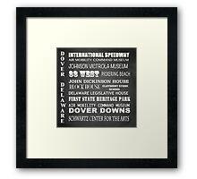 Dover Famous Landmarks Framed Print