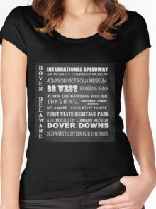 Dover Famous Landmarks Women's Fitted Scoop T-Shirt