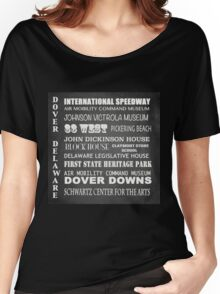 Dover Famous Landmarks Women's Relaxed Fit T-Shirt