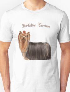 Yorkshire Terrier Love Unisex T-Shirt