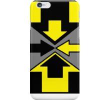 Black & Yellow Arrow Case iPhone Case/Skin