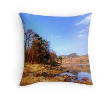 Blea Tarn, Lake District Throw Pillow
