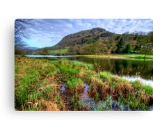 Rydal Water, Lake District Canvas Print